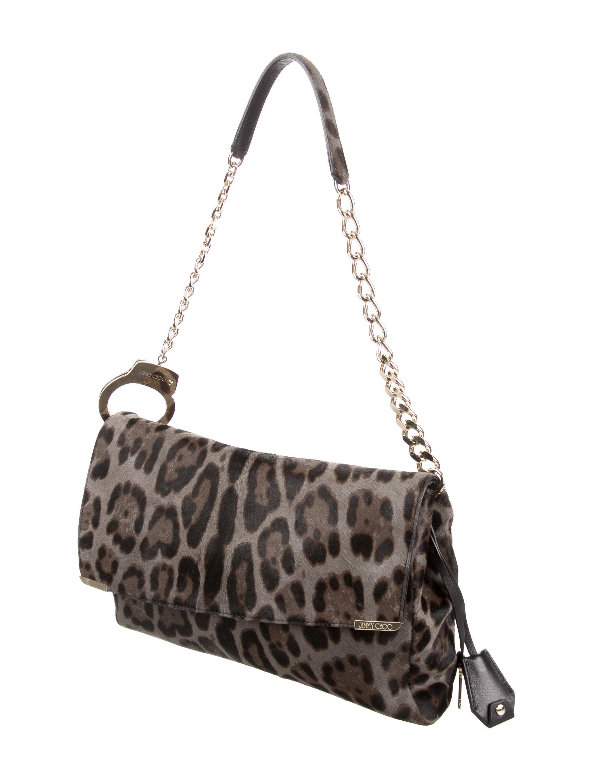 Jimmy Choo Ponyhair Ally Bag - Handbags