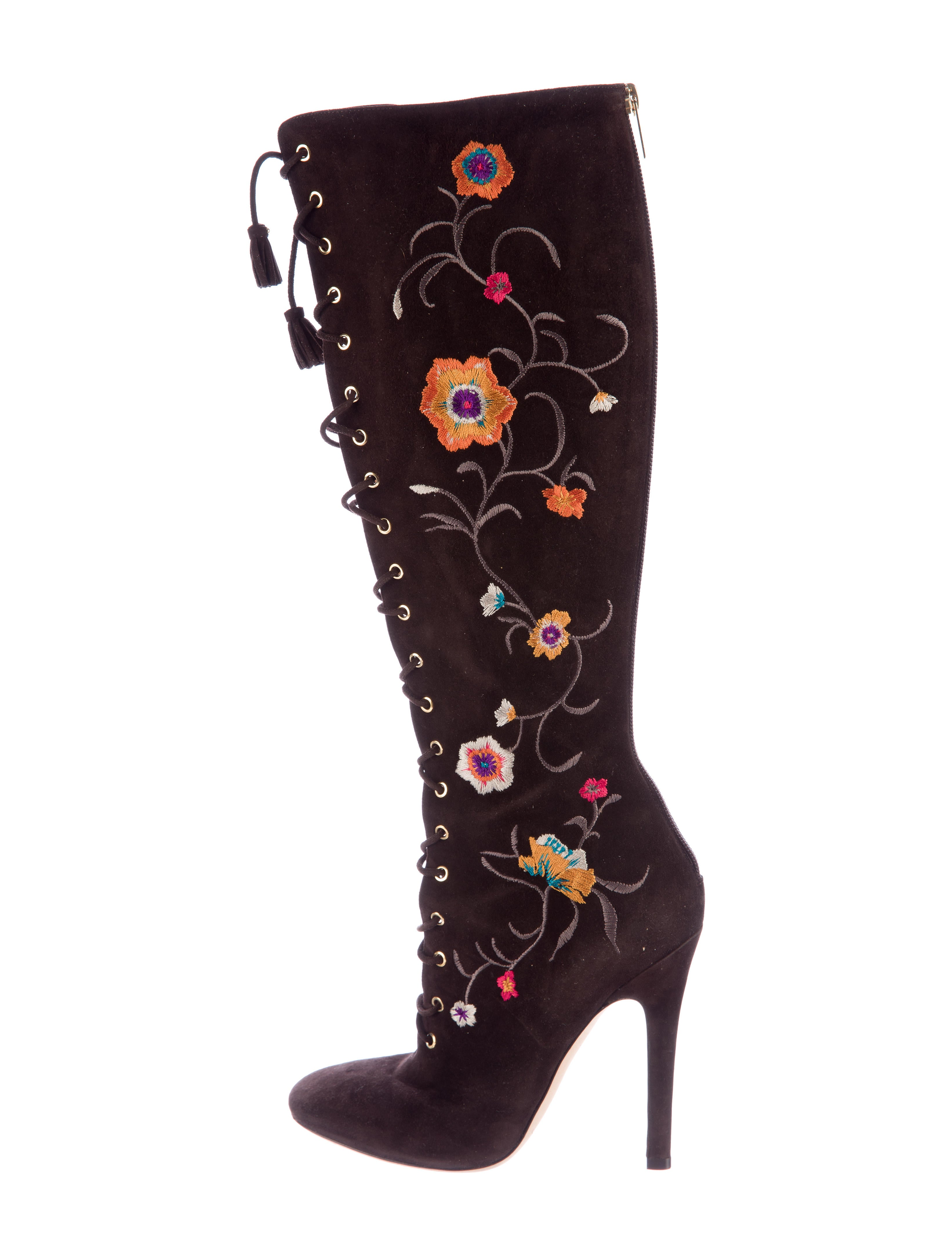 cf3f1359e08 Jimmy Choo Colorado Embroidered Boots - Shoes - JIM62210