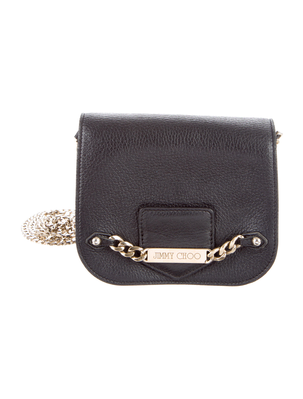 Jimmy Choo Leather Shadow Crossbody Bag - Handbags ...
