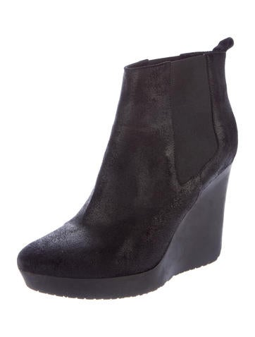 jimmy choo suede wedge ankle boots shoes jim63227
