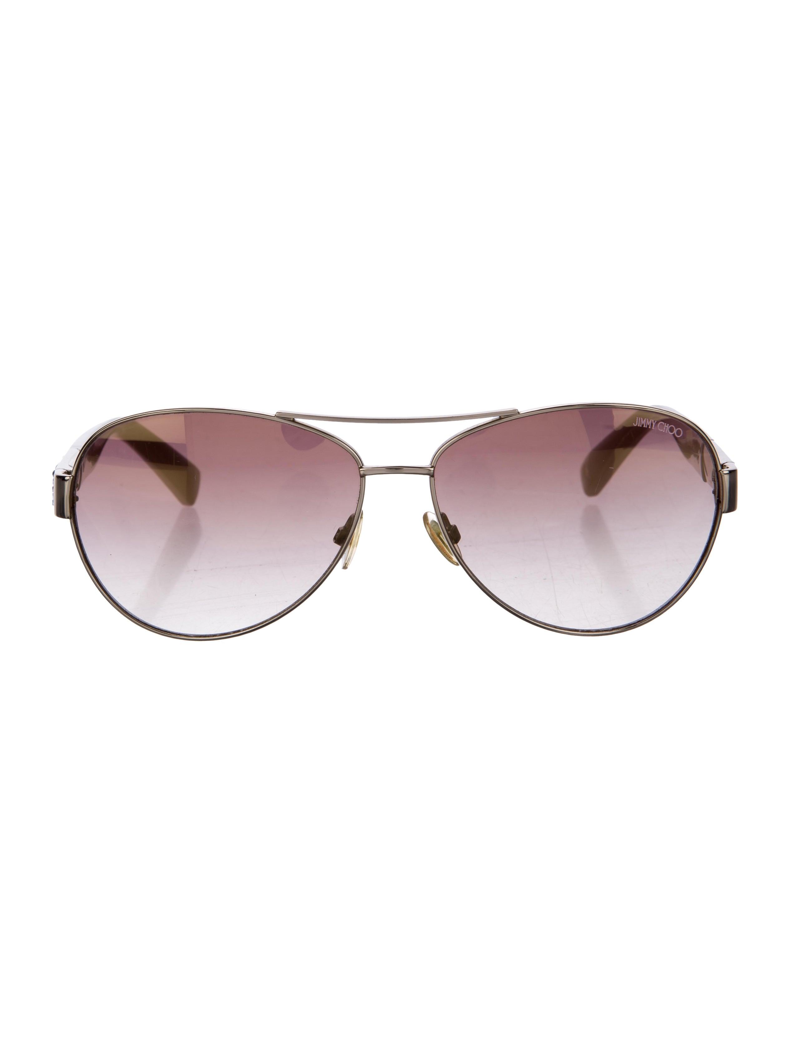 ae44875159d2b Jimmy Choo Baba Aviator Sunglasses - Accessories - JIM64757
