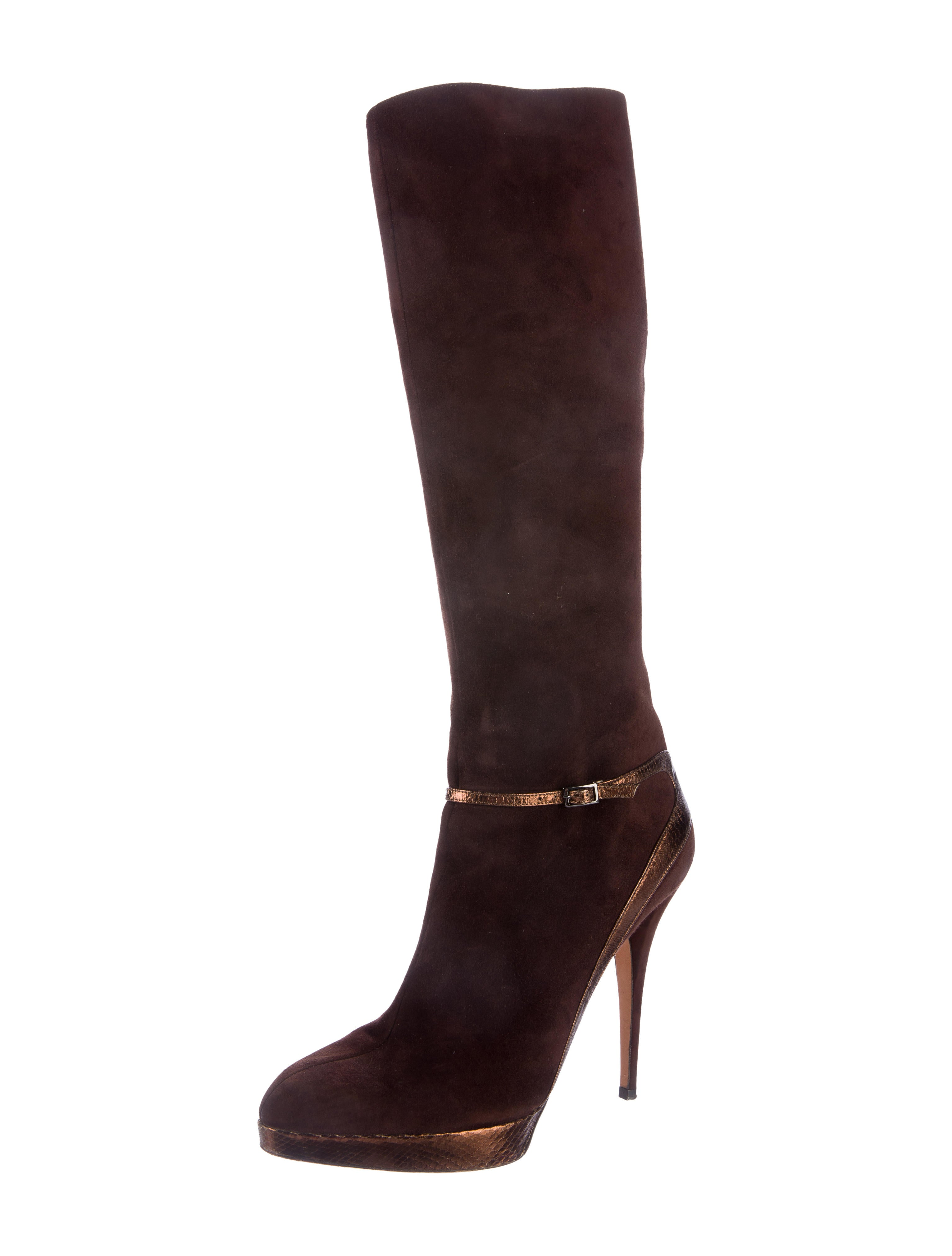 jimmy choo suede platform boots shoes jim66342 the
