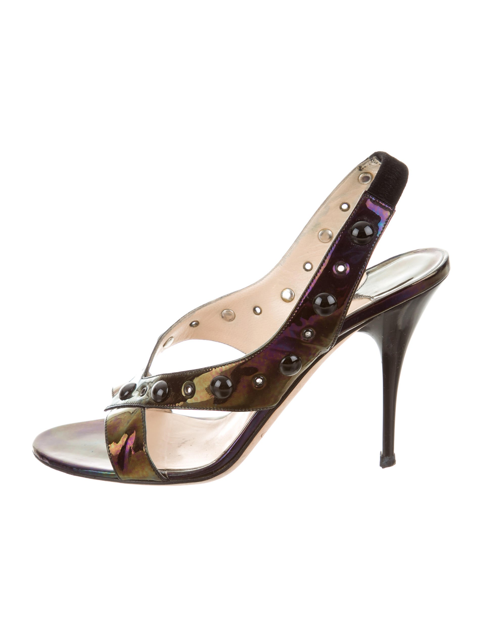 pick a best for sale wide range of for sale Jimmy Choo Iridescent Slingback Sandals rC7blZx