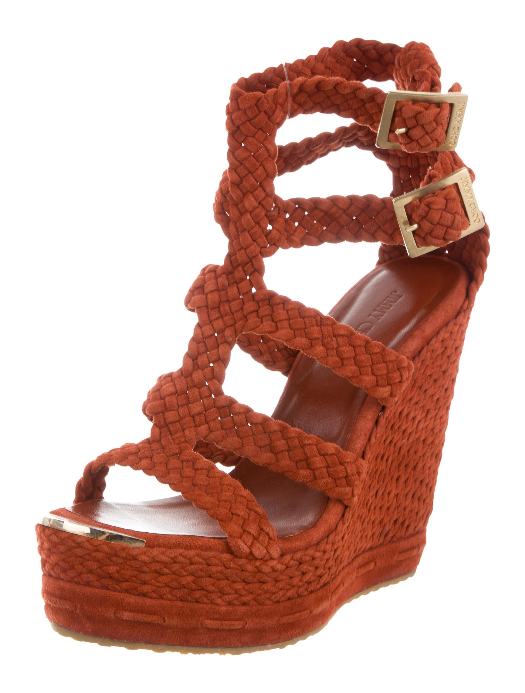 jimmy choo braided platform wedges shoes jim69797