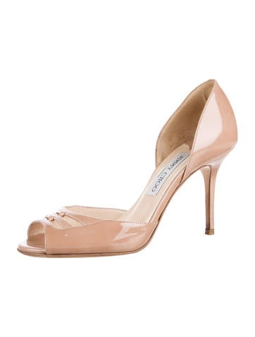 sale top quality Jimmy Choo Aura d'Orsay Pumps sale cheap online sale 2015 new amazing price for sale low cost cheap price jGpAZXMl