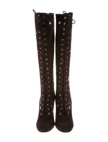 ce1e77d017a Jimmy Choo Colorado Embroidered Boots - Shoes - JIM72283