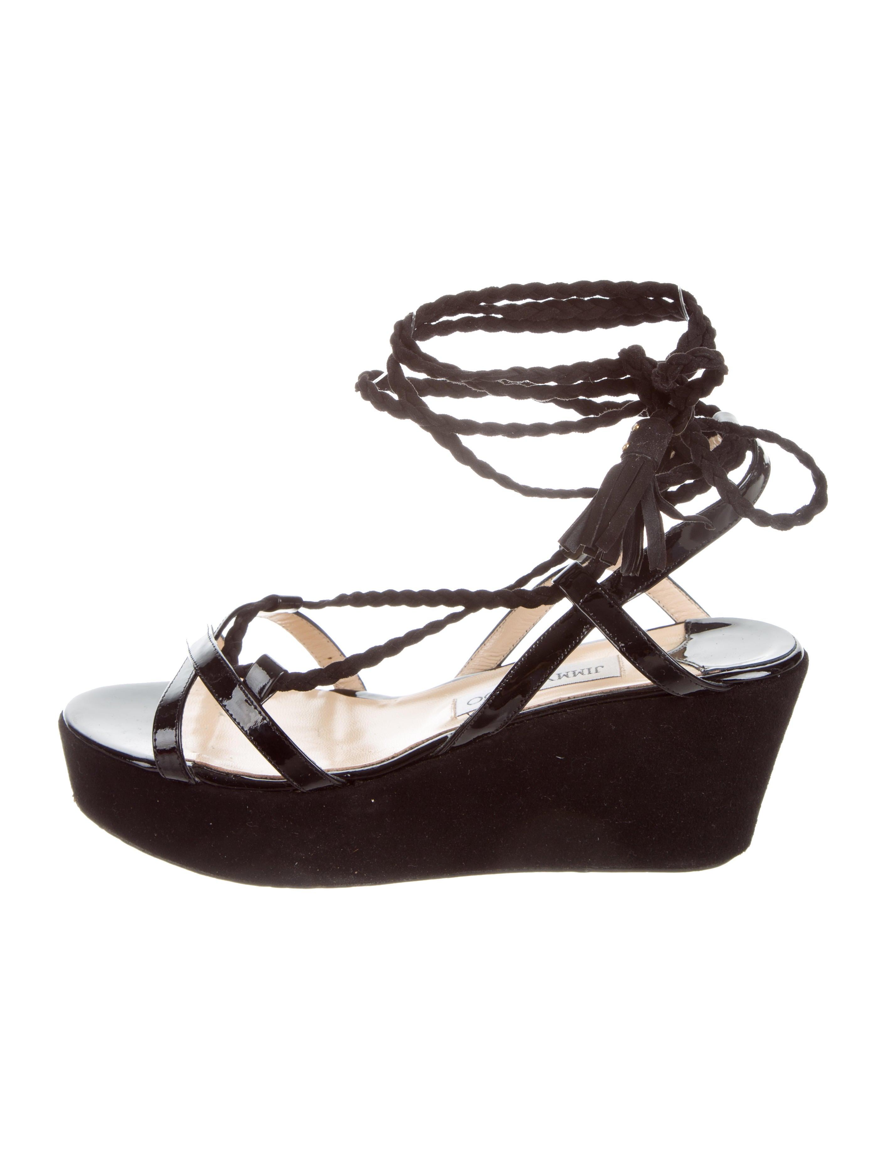 jimmy choo poppy platform wedges shoes jim72428 the