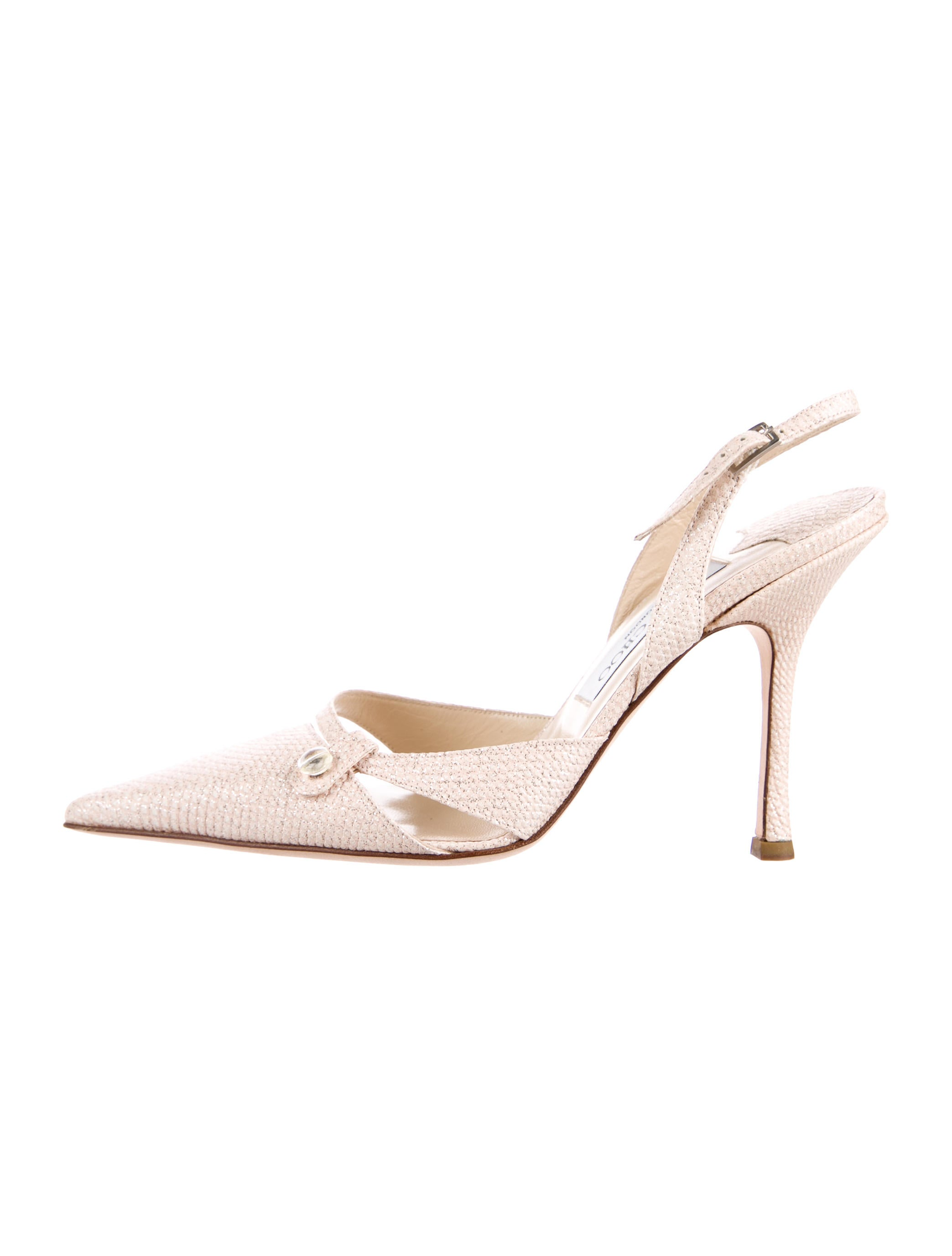 Jimmy Choo Pointed-Toe Karung Pumps clearance eastbay collections fd78bI9HC
