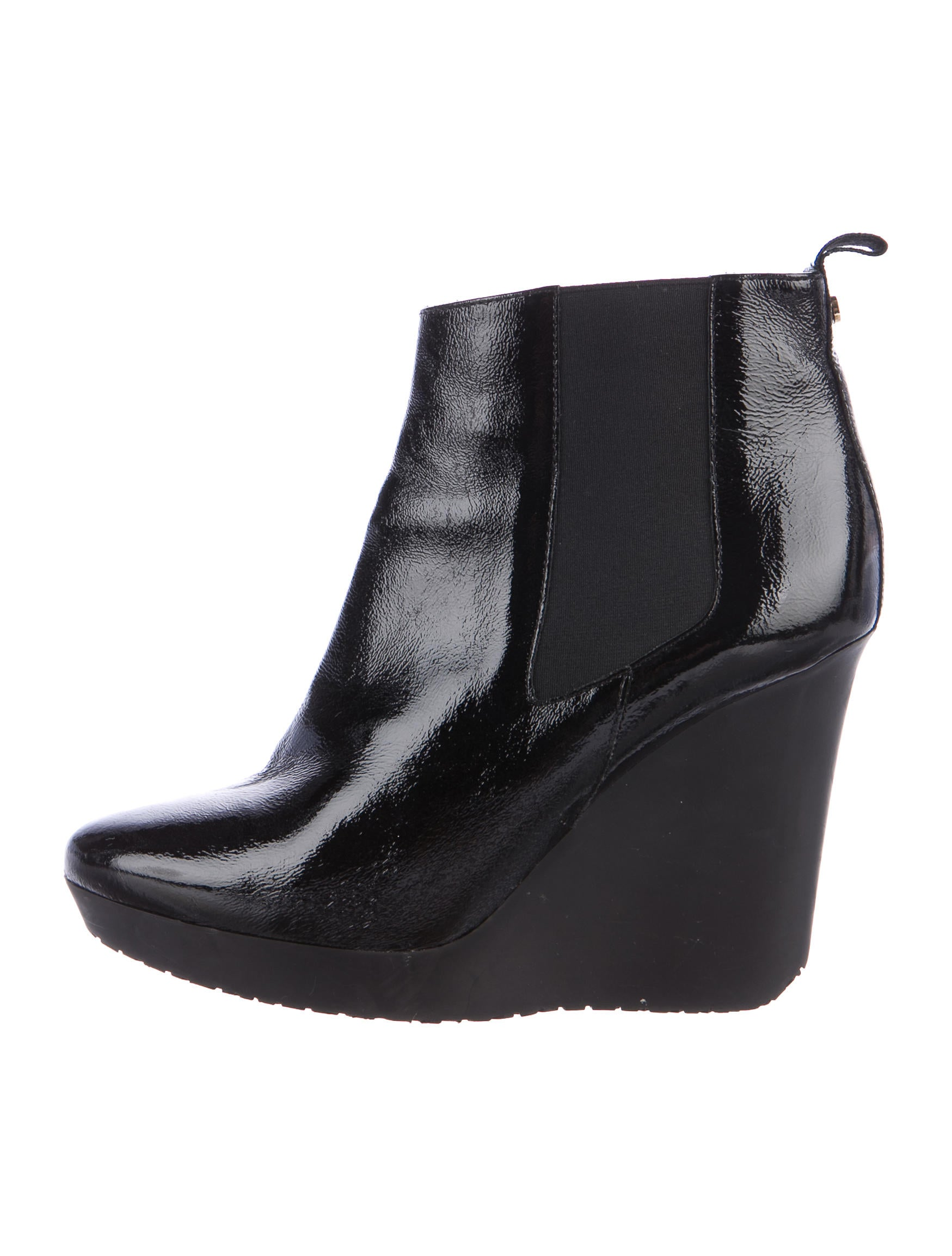 Find patent leather wedge boots at ShopStyle. Shop the latest collection of patent leather wedge boots from the most popular stores - all in one.