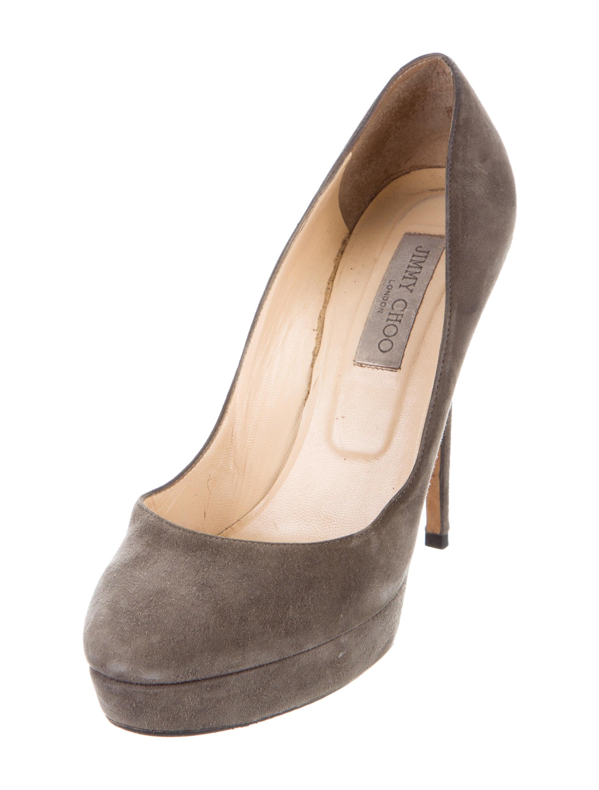 jimmy choo suede platform pumps shoes jim73306 the