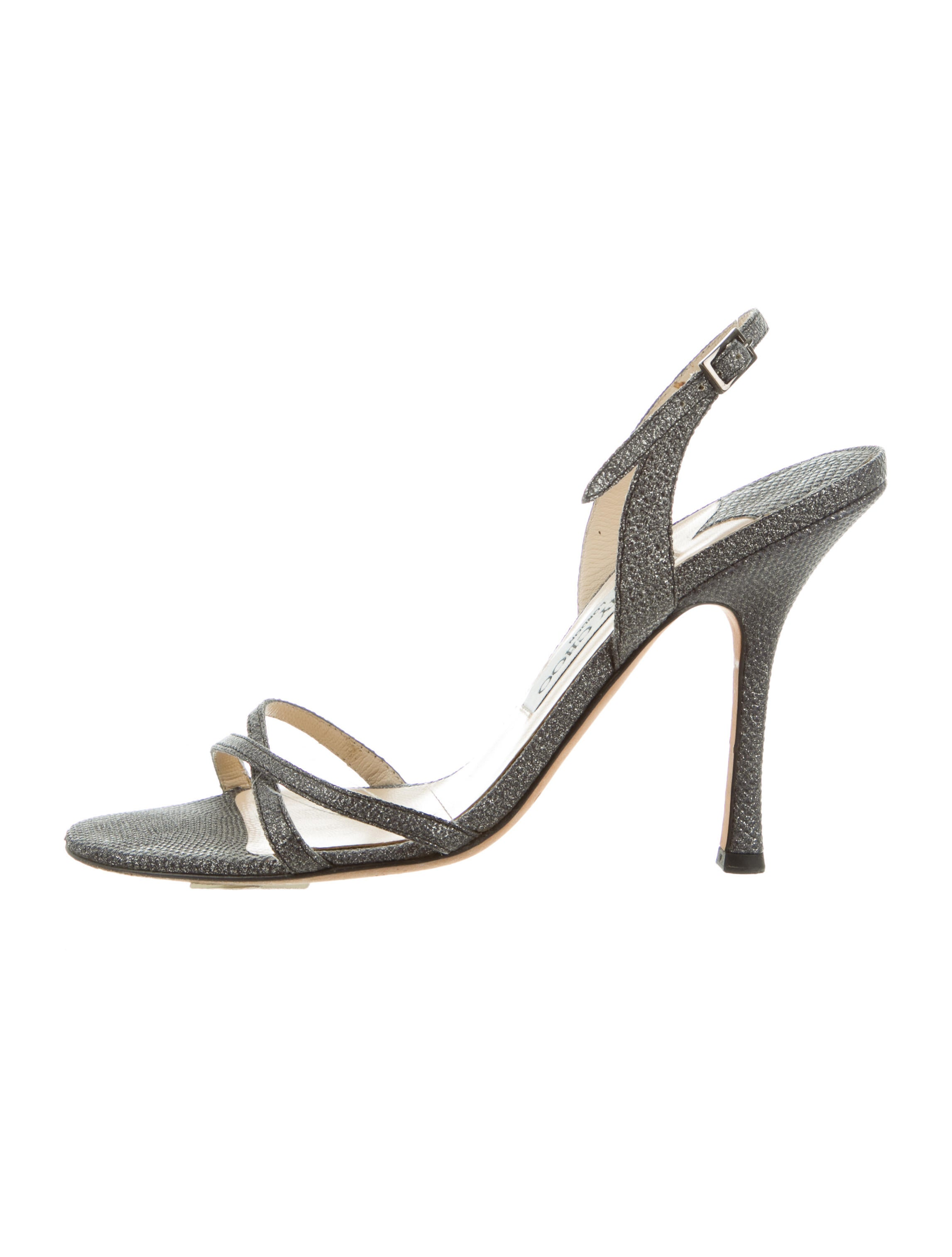 buy cheap shop for Jimmy Choo Metallic Karung Sandals brand new unisex sale online sale best prices newest comfortable cheap price mBaSkV8