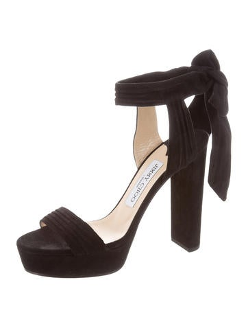 big sale Jimmy Choo Kaytrin Platform Sandals w/ Tags choice lLJ8CW6