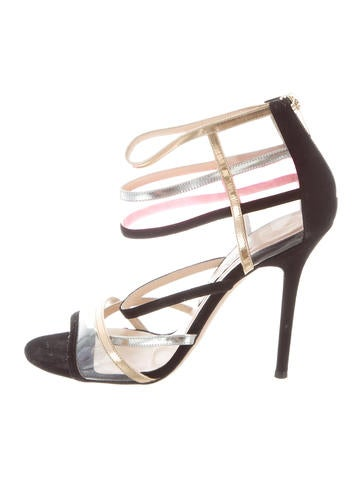 Jimmy Choo PVC Multistrap Sandals outlet original outlet online buy cheap view clearance clearance latest collections sale online RQO3cYPz