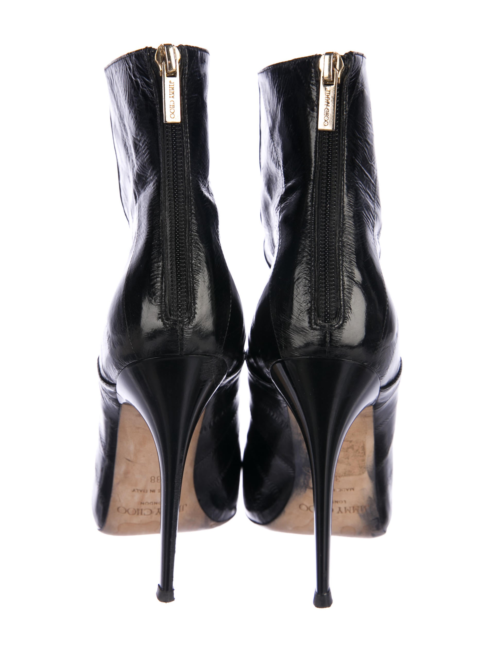 Jimmy Choo Brinley Eel Skin Boots cheap best store to get I6ohQ6m