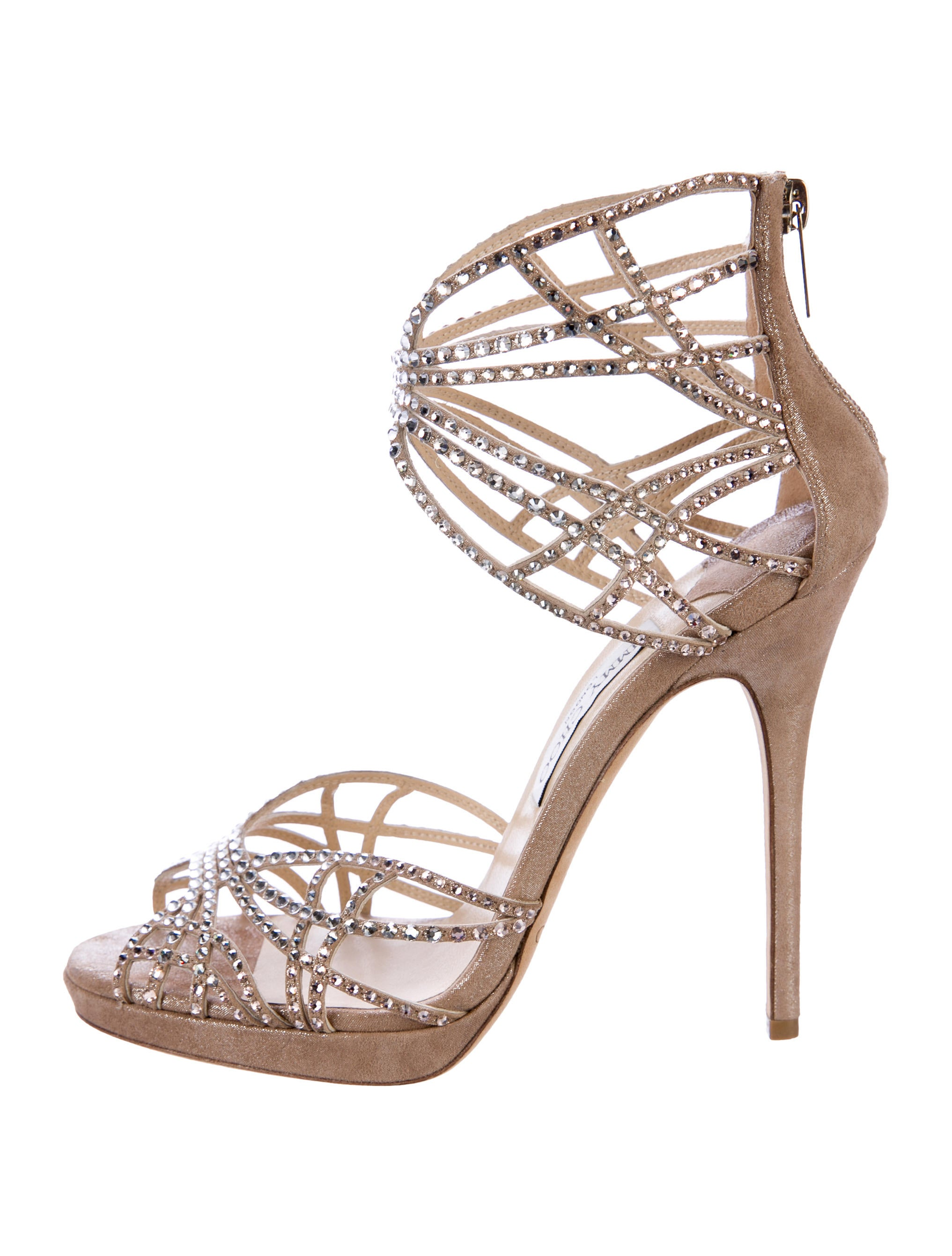 9920246e3636f3 Jimmy Choo Diva Crystal-Embellished Sandals - Shoes - JIM78635