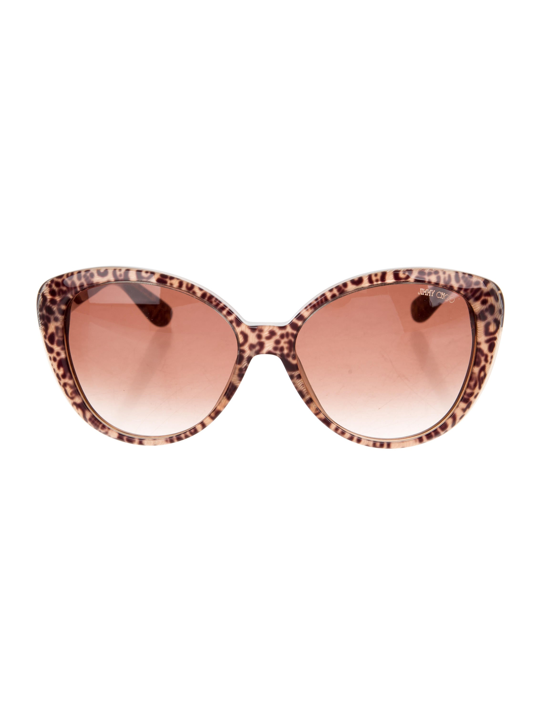 Jimmy Choo Leopard Print Sunglasses