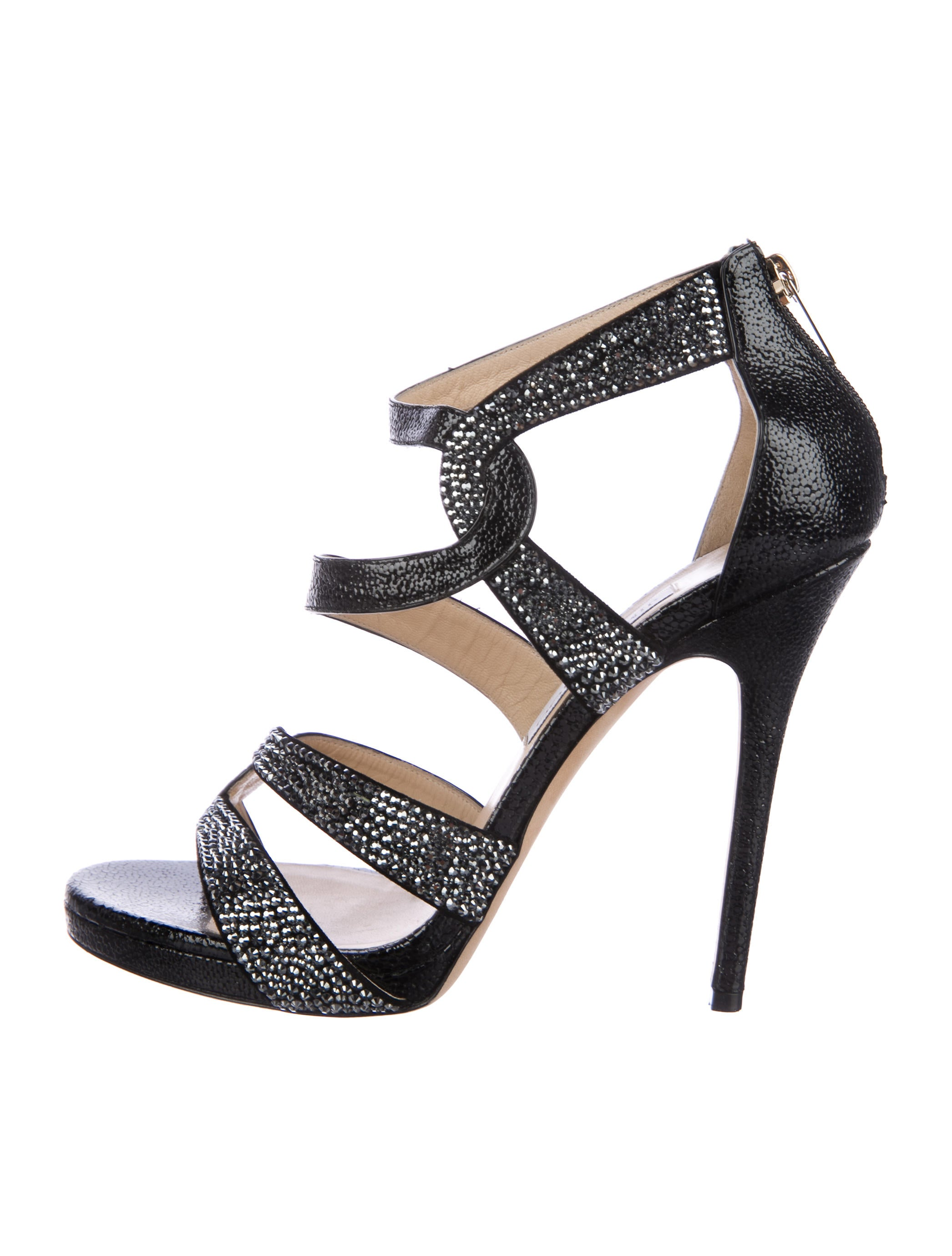 Jimmy Choo Taint Embellished Sandals outlet fashion Style cheap sale new styles outlet cheapest price ZnnrgI0J