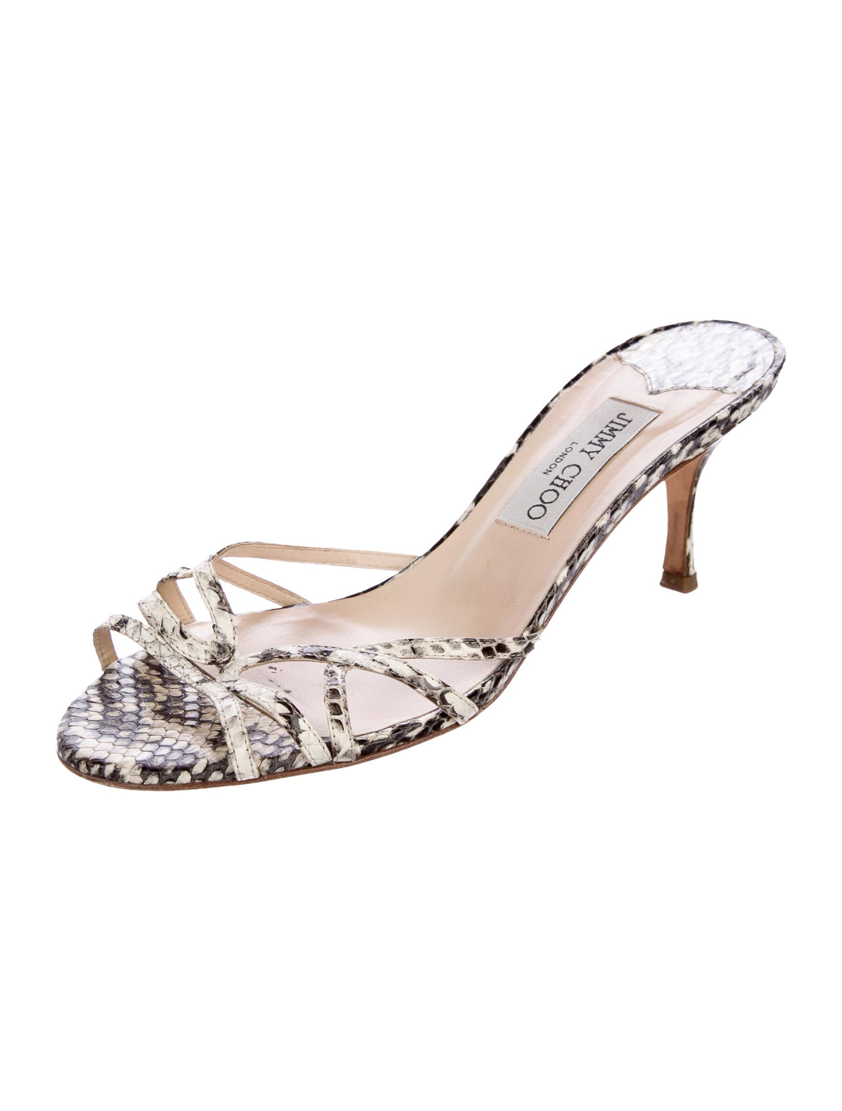 Jimmy Choo Ivana Snakeskin Sandals buy cheap sast clearance very cheap free shipping for nice online cheap price low shipping fee cheap price KjaqnIF