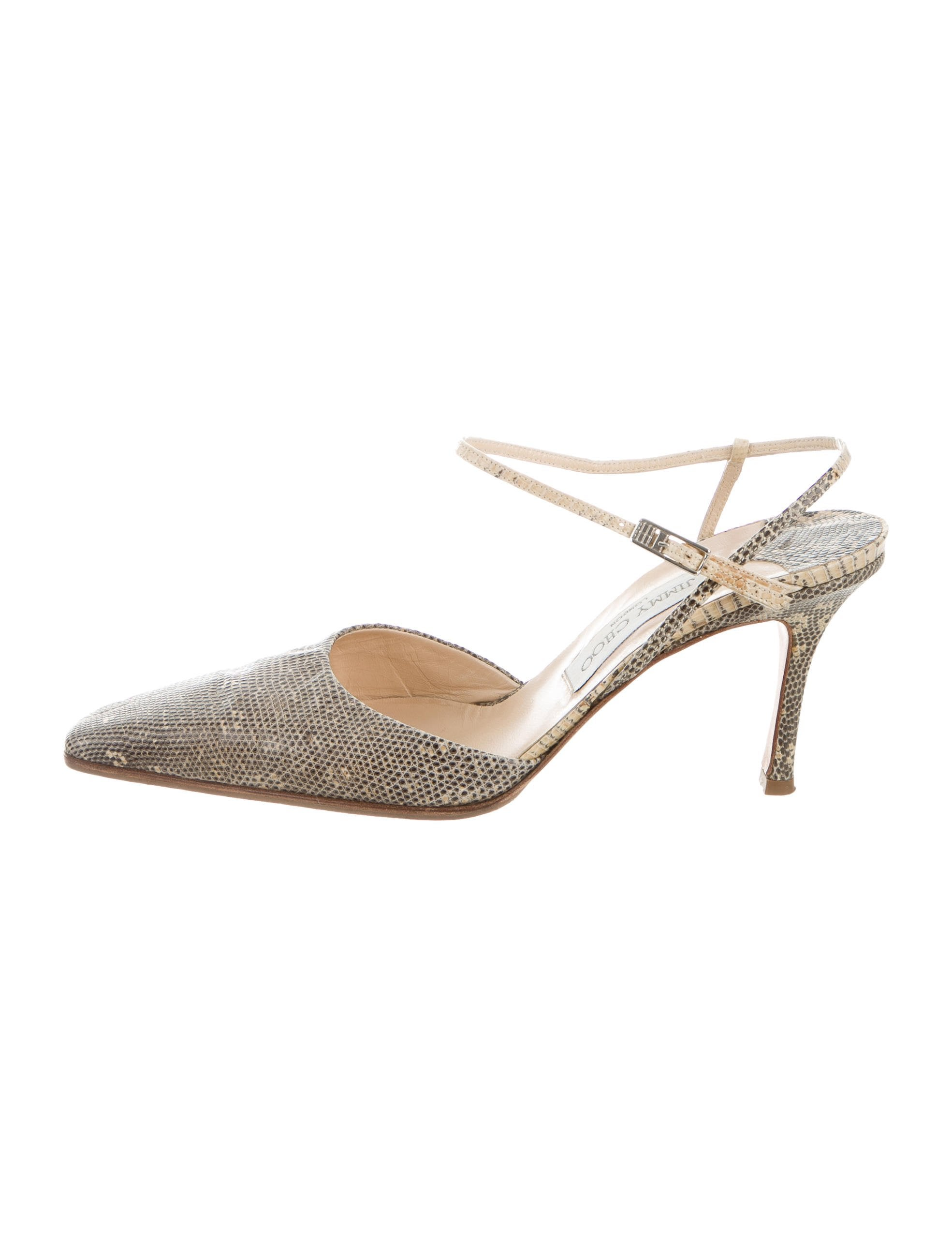 shopping online original countdown package for sale Jimmy Choo Lizard Pointed-Toe Pumps new styles cheap price wUdnlDN