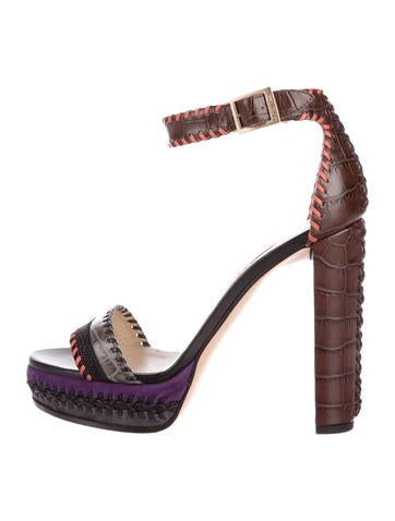 Jimmy Choo Holly 120 Platform Sandals None