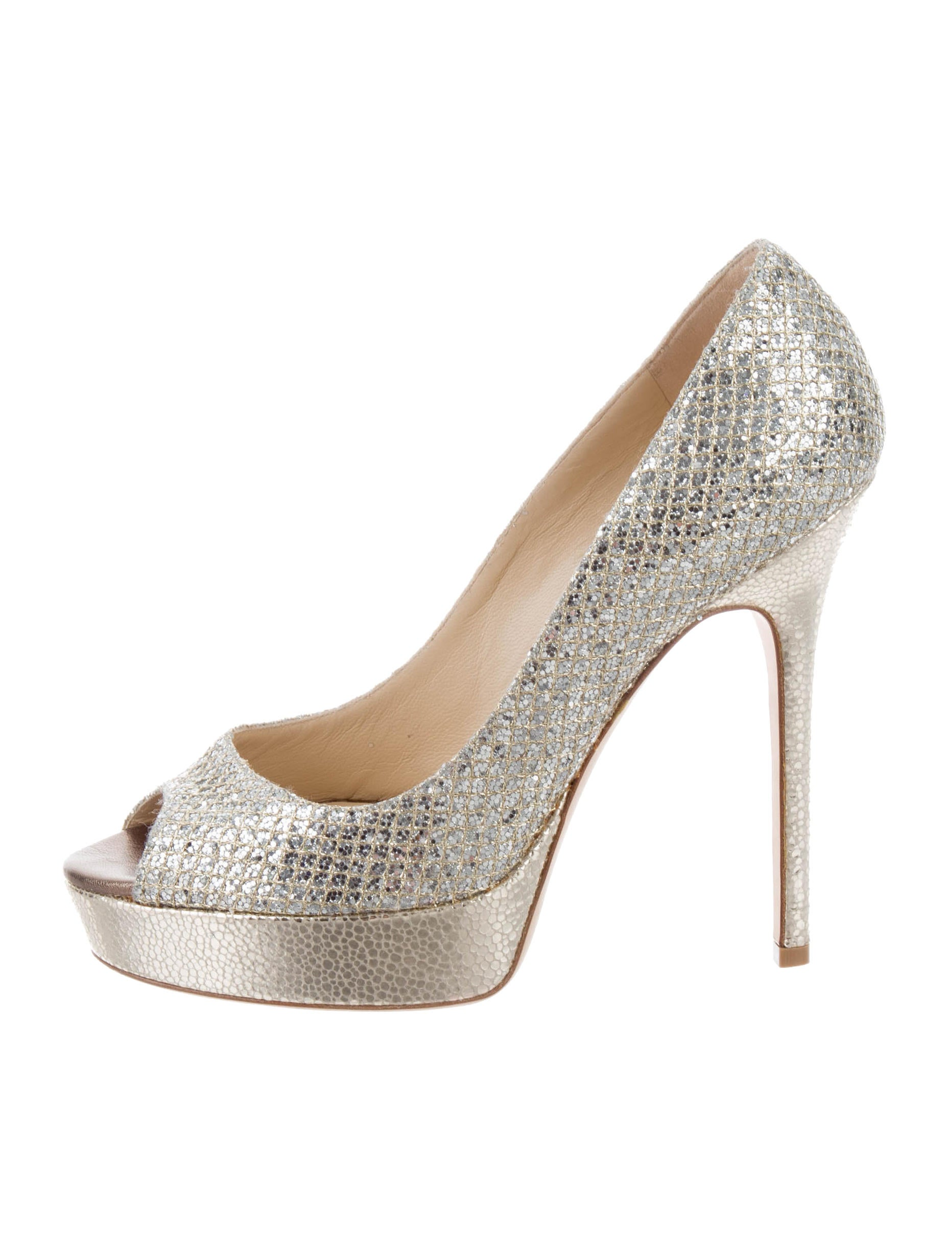 d3ec14c4f01e Jimmy Choo Glitter Crown Pumps w  Tags - Shoes - JIM82980