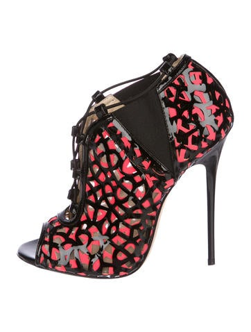 Jimmy Choo Tactic Lace-Up Booties w/ Tags None