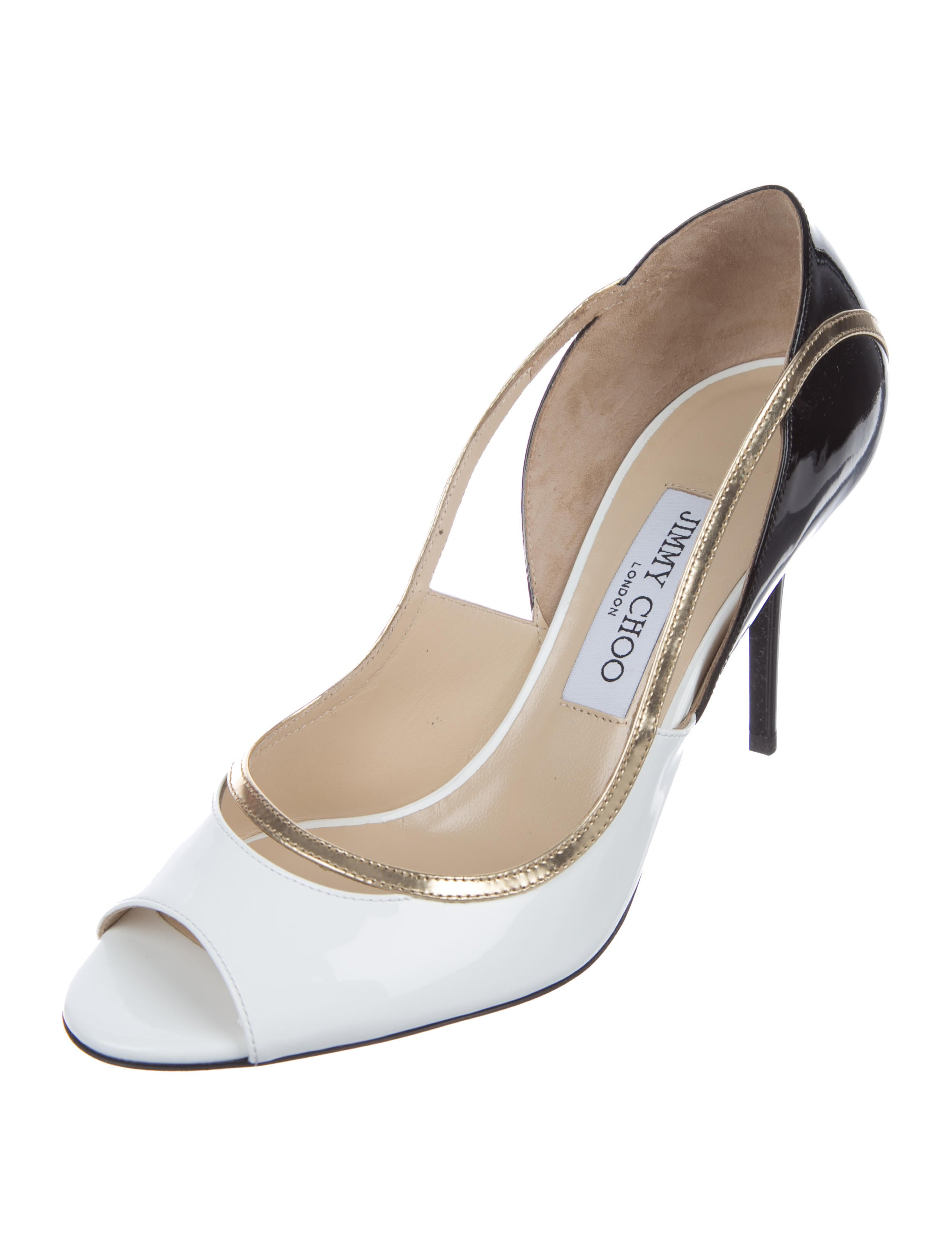Jimmy Choo View Patent Leather Pumps w/ Tags sale extremely jl6aLFV7m