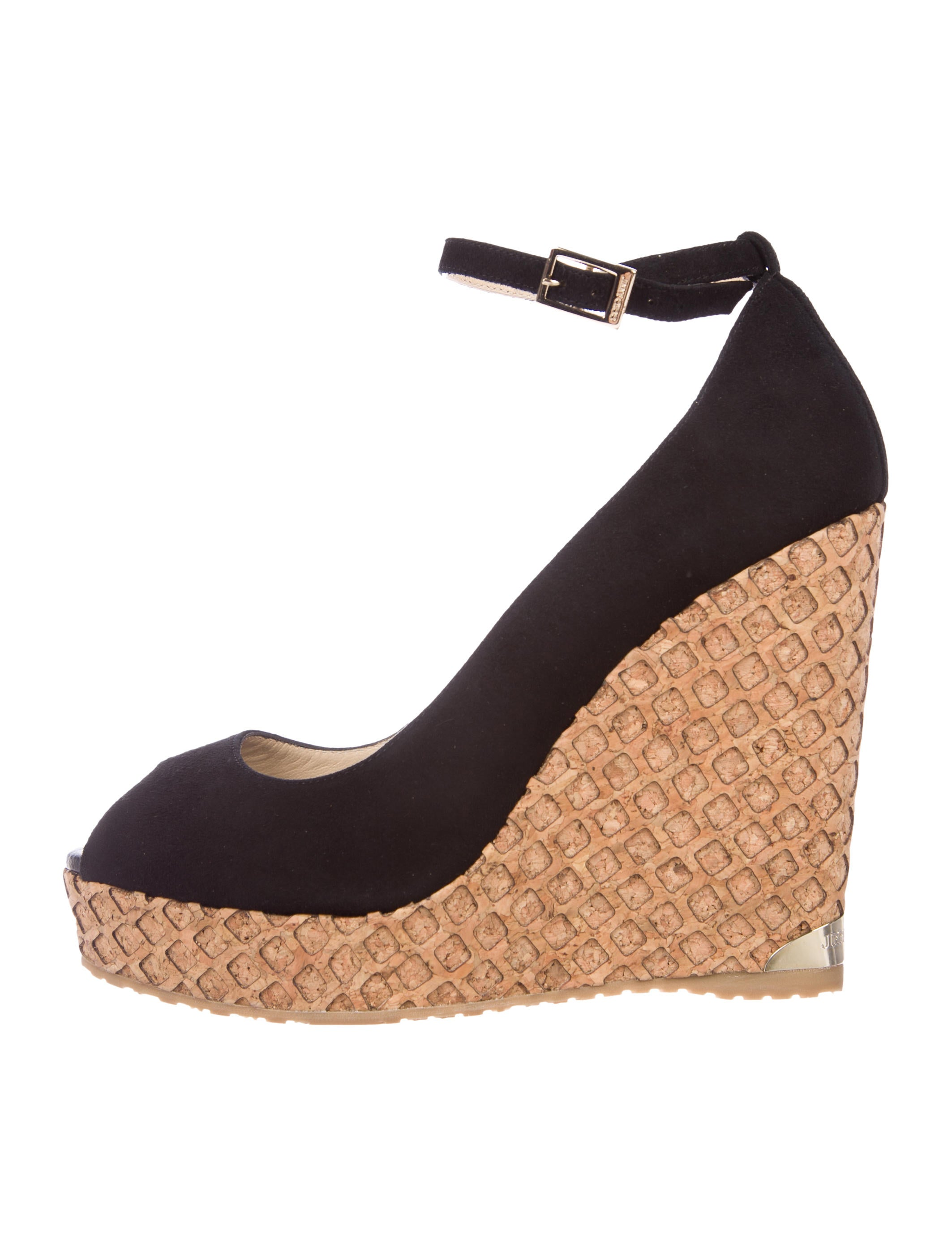 Jimmy Choo Pacific Wedge Pumps w/ Tags clearance latest collections outlet with paypal order online amazon sale online choice online cheap hot sale Gae0sp5D1f