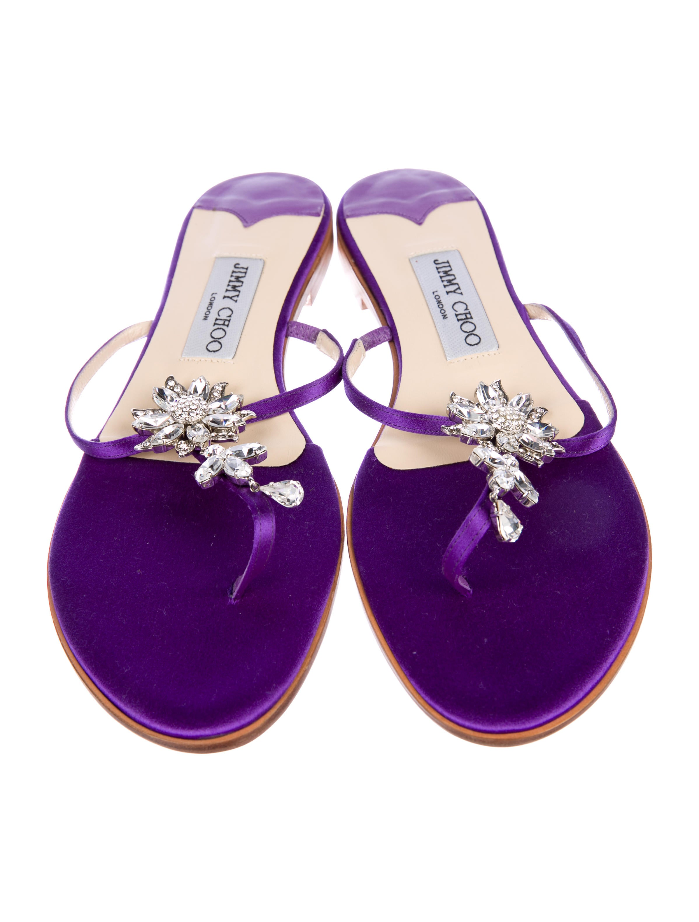 free shipping manchester great sale for sale online Jimmy Choo Cynthia Crystal Thong Sandals w/ Tags discount collections cheap order free shipping order 94XeAmoo9j