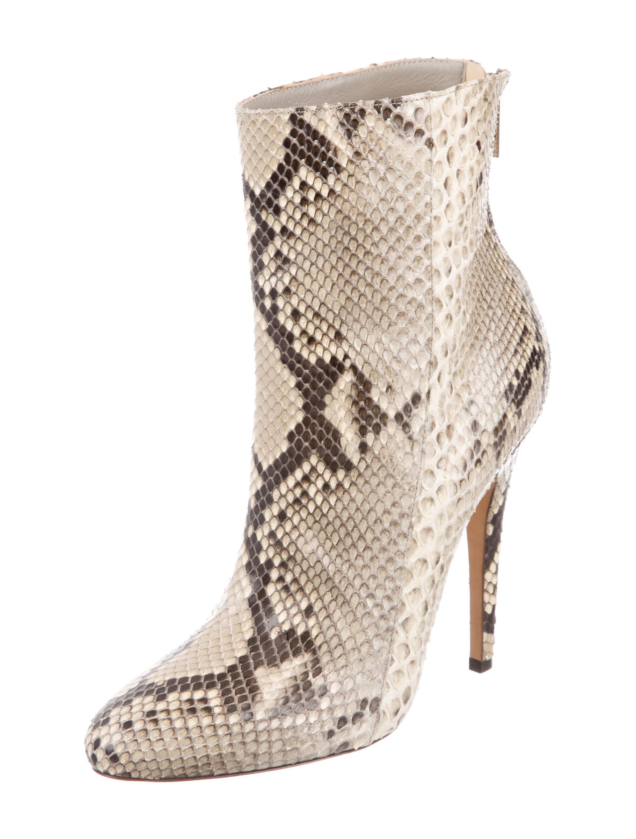 clearance cheap real outlet purchase Jimmy Choo 122 Brinley Python Ankle Boots best cheap online HGbLI2