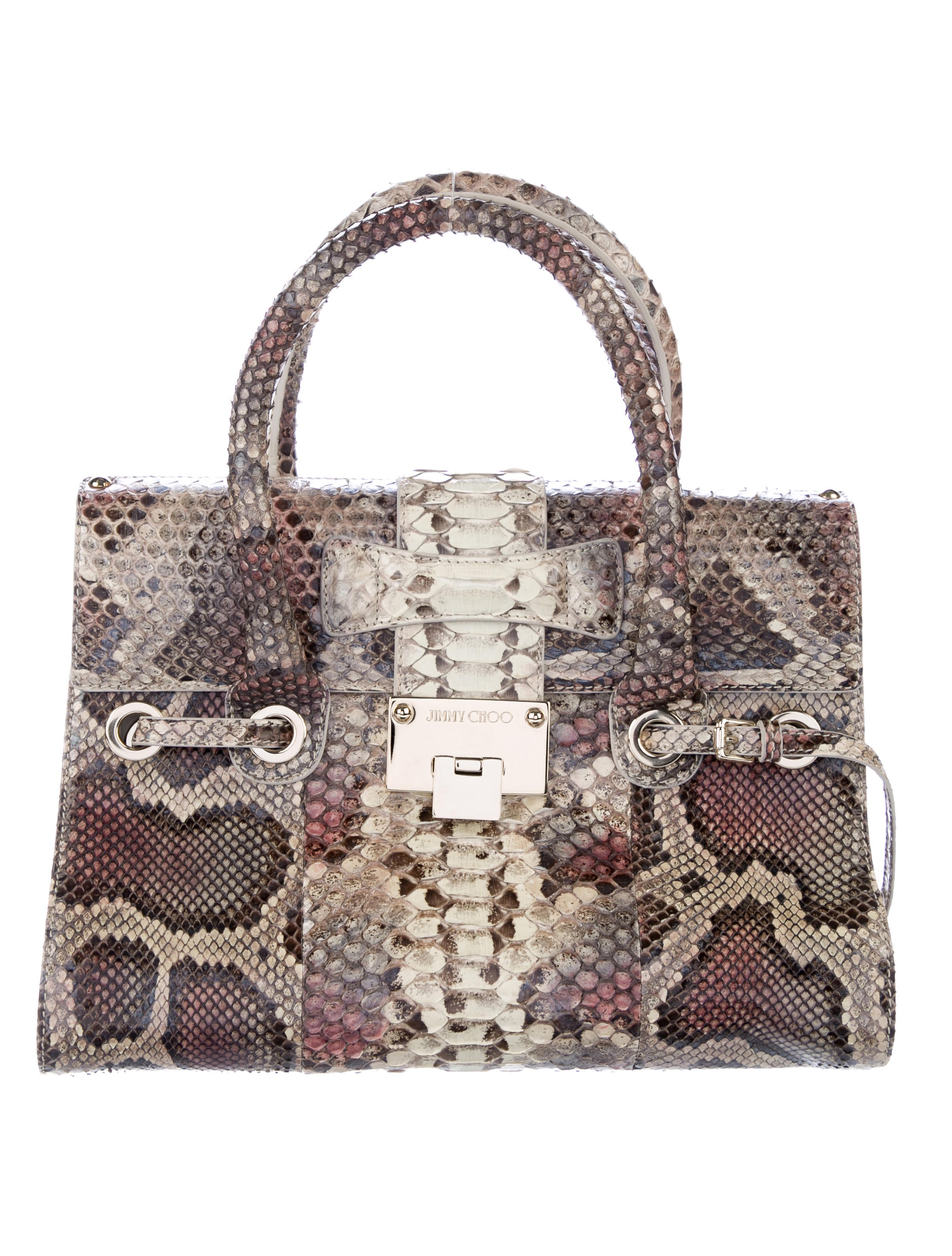 3d502537d3d4 Jimmy Choo Python Rosalie Bag - Handbags - JIM84261
