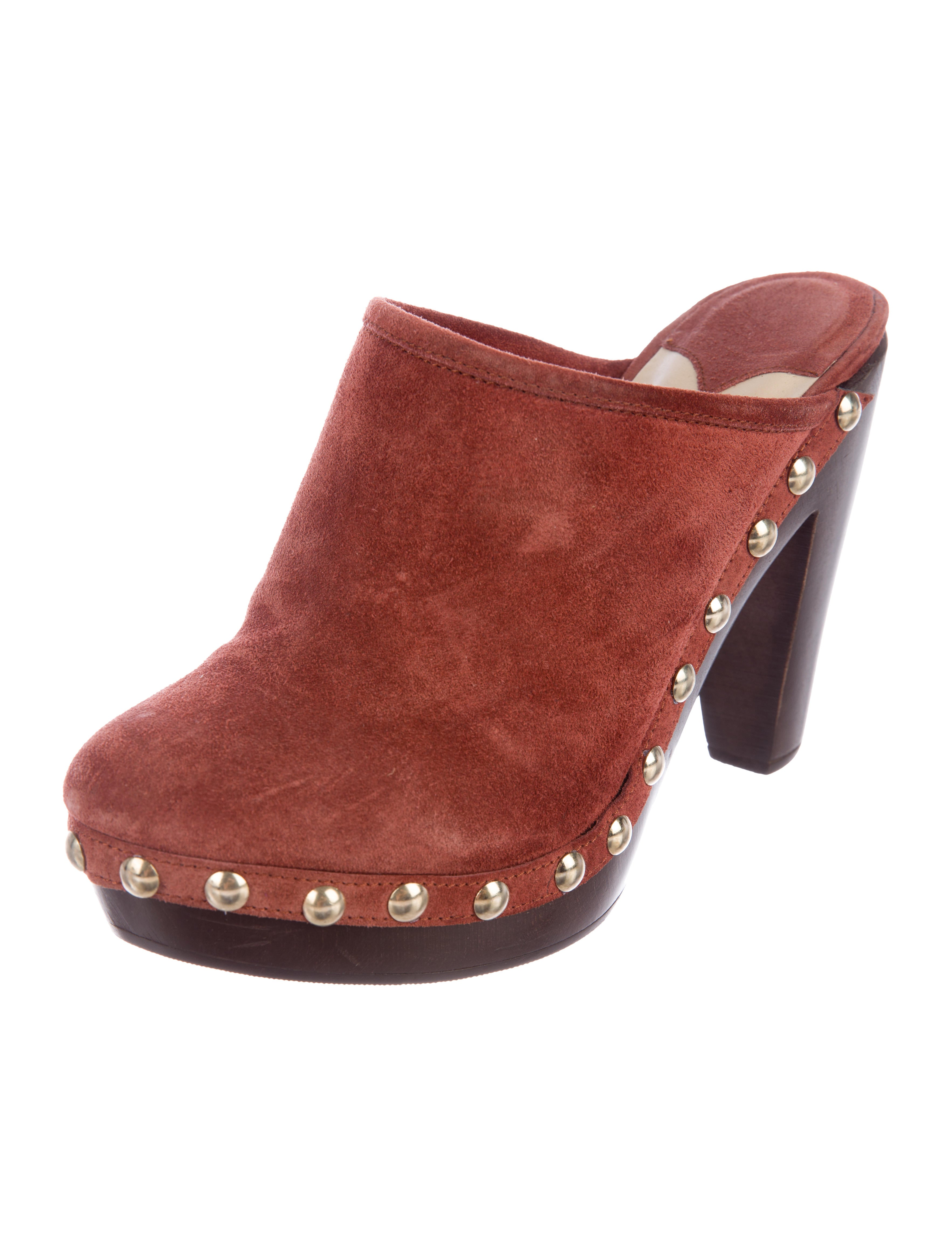Jimmy Choo Utmost Suede Clogs shopping online clearance CCWvpxEFo