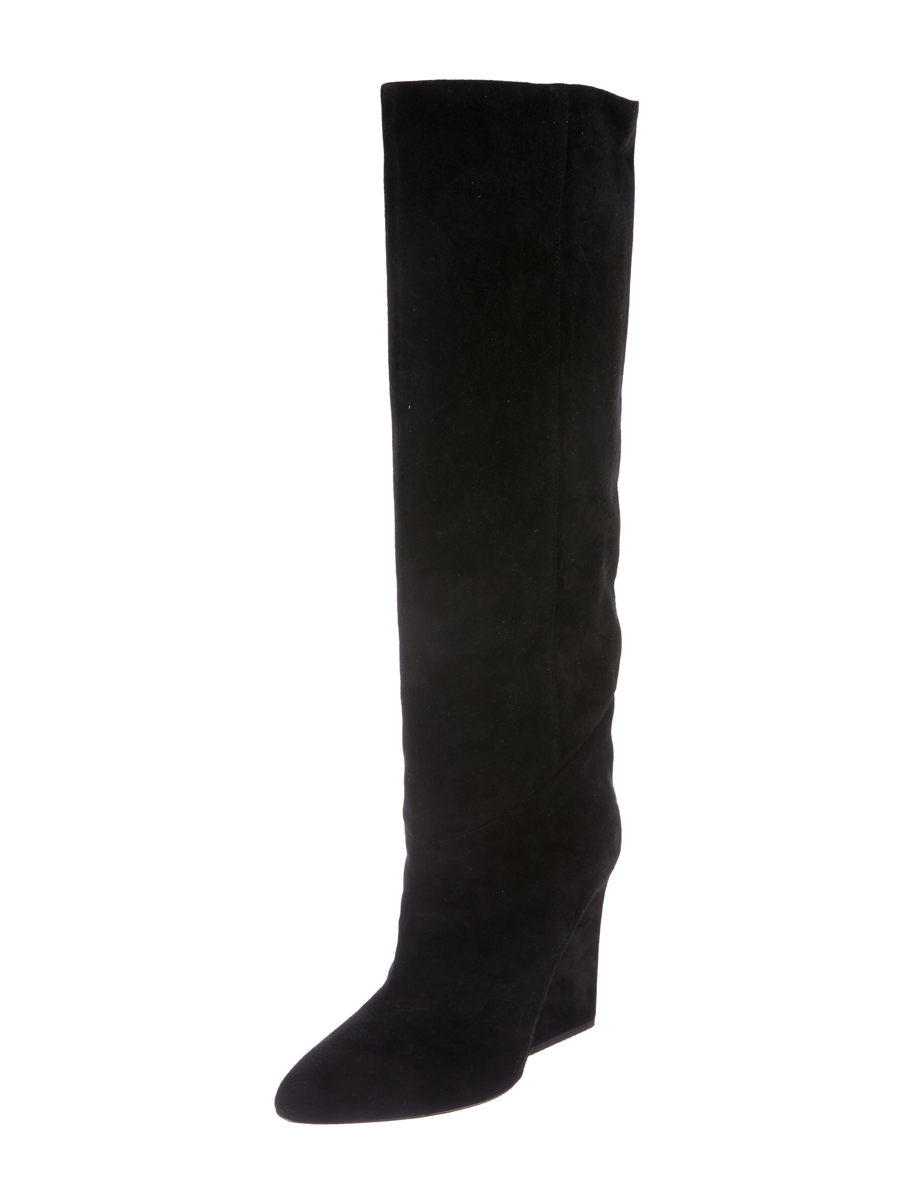 Jimmy Choo Cartel Suede Knee-High Boots outlet visa payment popular cheap price outlet for cheap 2014 for sale nrY3o