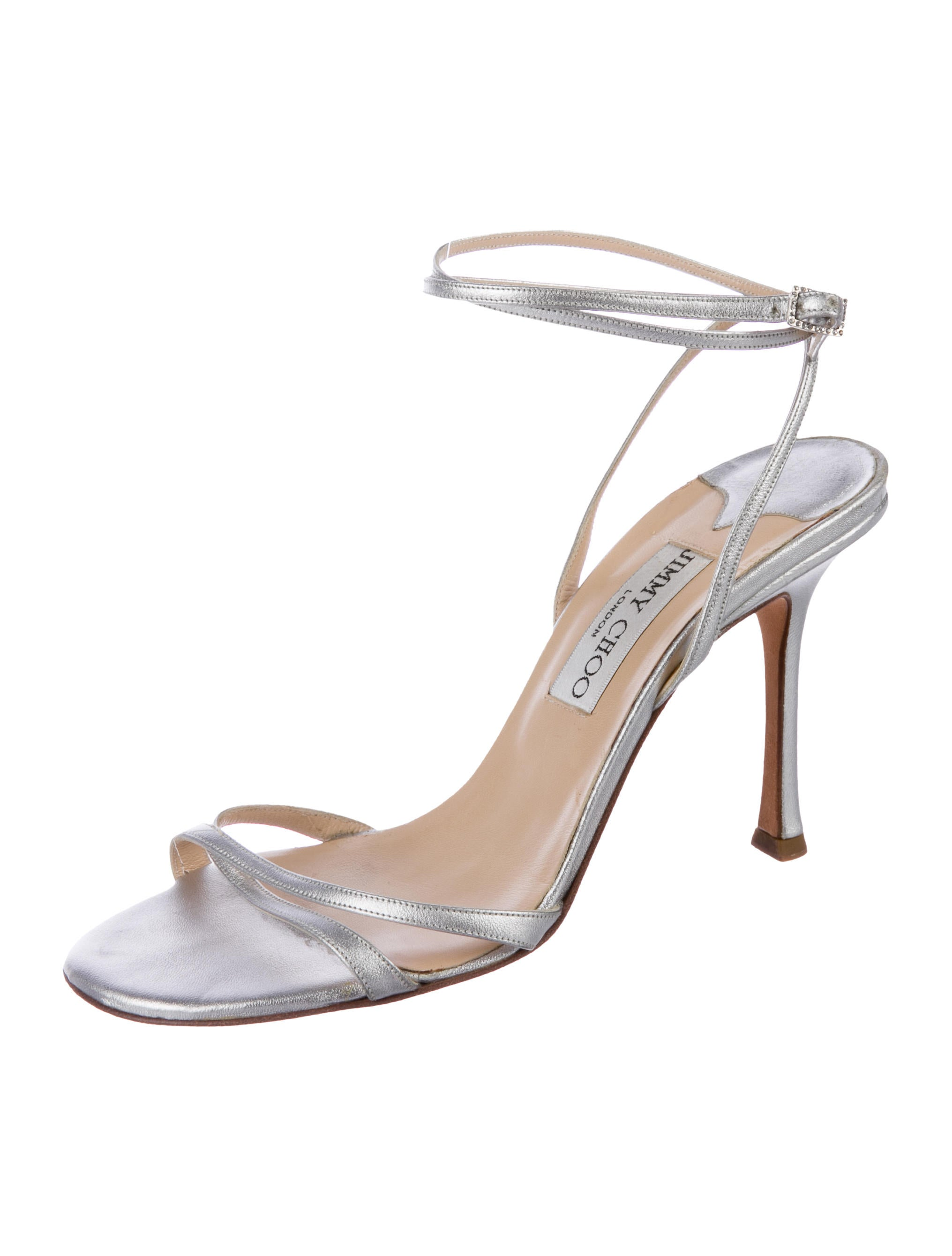 Jimmy Choo Wrap-Around Thong Sandals good selling cheap price explore sale online eastbay sale online wiki cheap online Vzp5PH