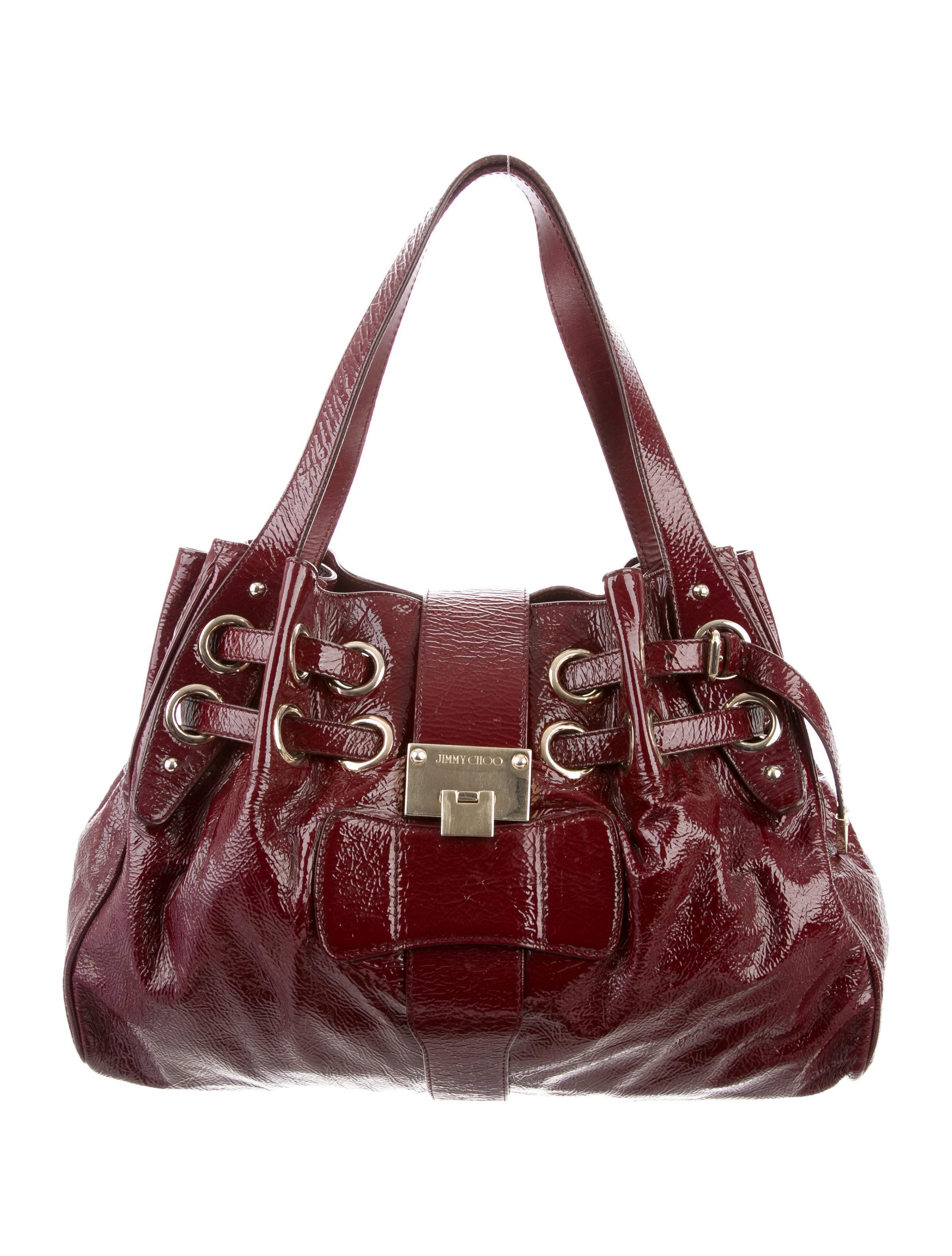 Women · Handbags; Jimmy Choo Patent Leather Ramona Bag. Patent Leather Ramona  Bag