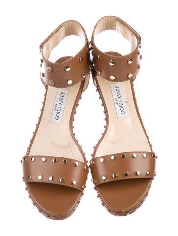 Veto Studded Ankle Strap Sandals