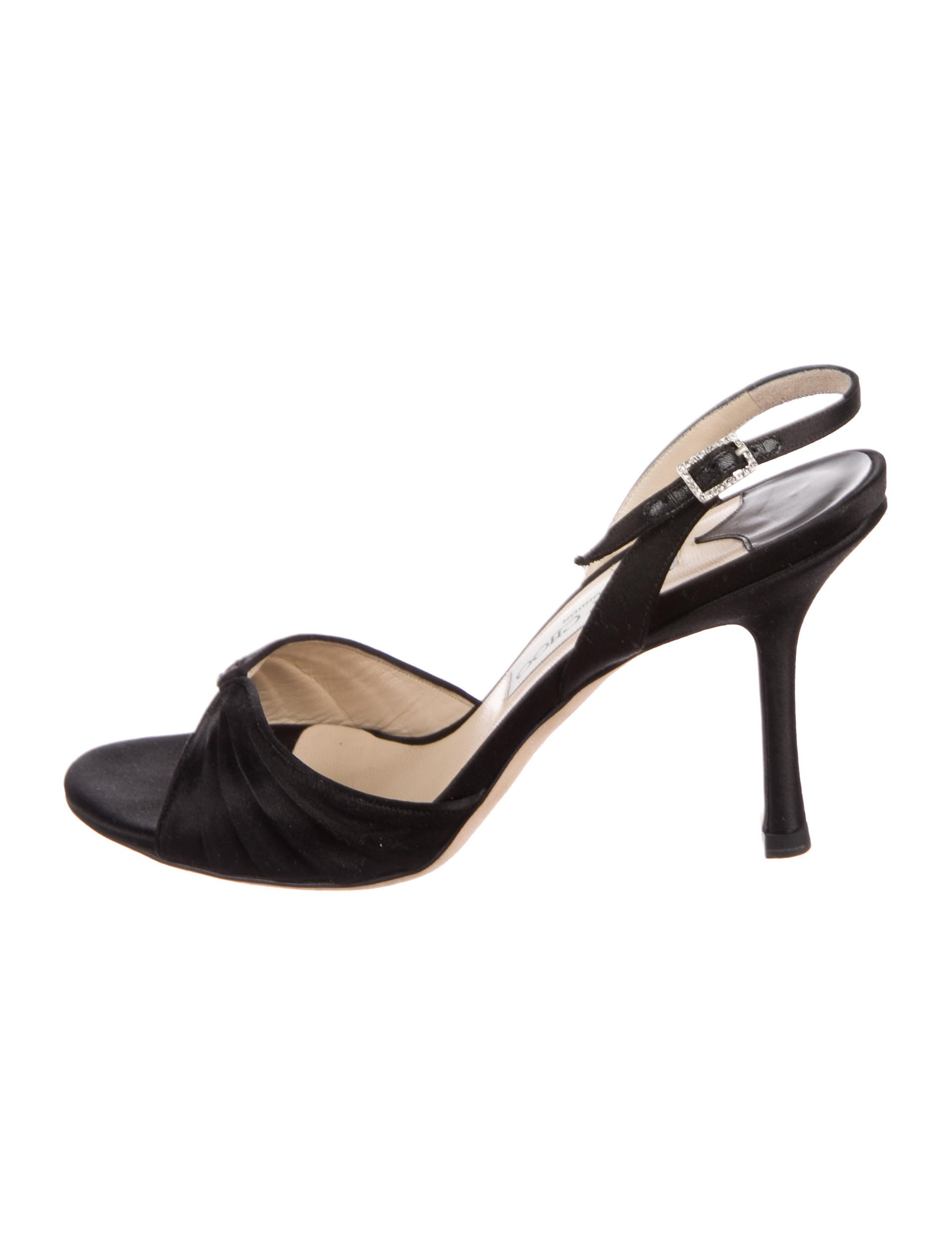outlet get to buy footlocker for sale Jimmy Choo King Ruched Sandals excellent cheap price F6I093