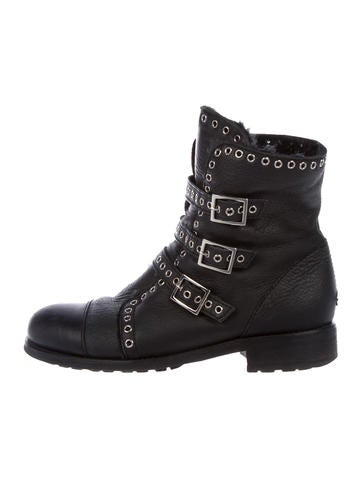 Jimmy Choo Leather Grommet Boots buy cheap limited edition good selling cheap online best seller cheap online release dates authentic buy cheap supply xI1PPcn