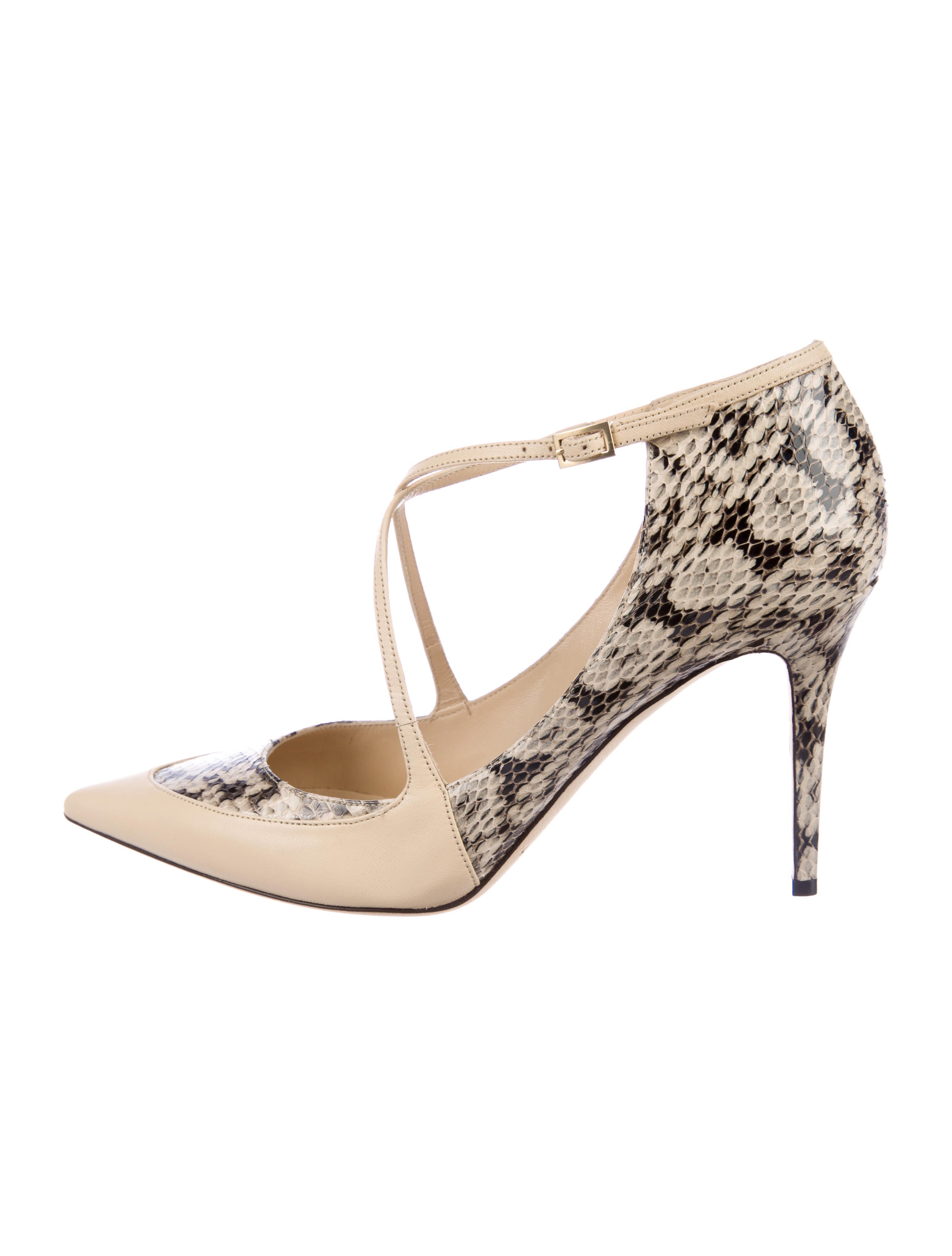 Jimmy Choo Snakeskin Madera Pumps for nice cheap online cheap sale tumblr free shipping from china 3XSbscd