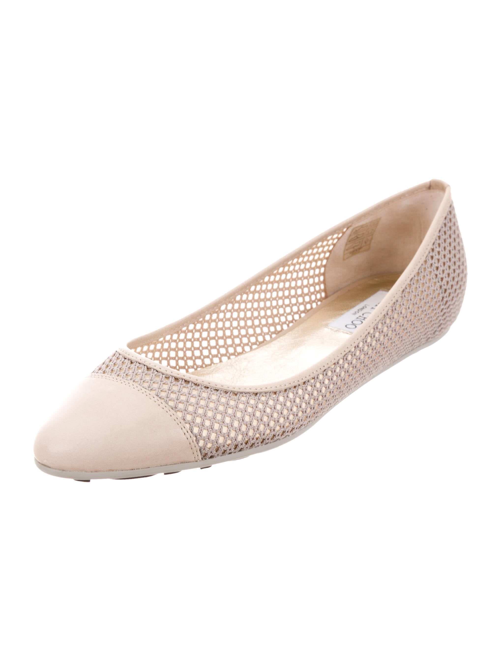 Jimmy Choo Waine Cap-Toe Flats w/ Tags amazing price cheap sale new styles EmTxE6E