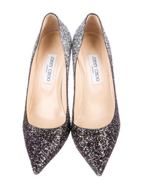 06f95c04bc2 Jimmy Choo Agnes Ombré Glitter Pumps - Shoes - JIM91818 | The RealReal