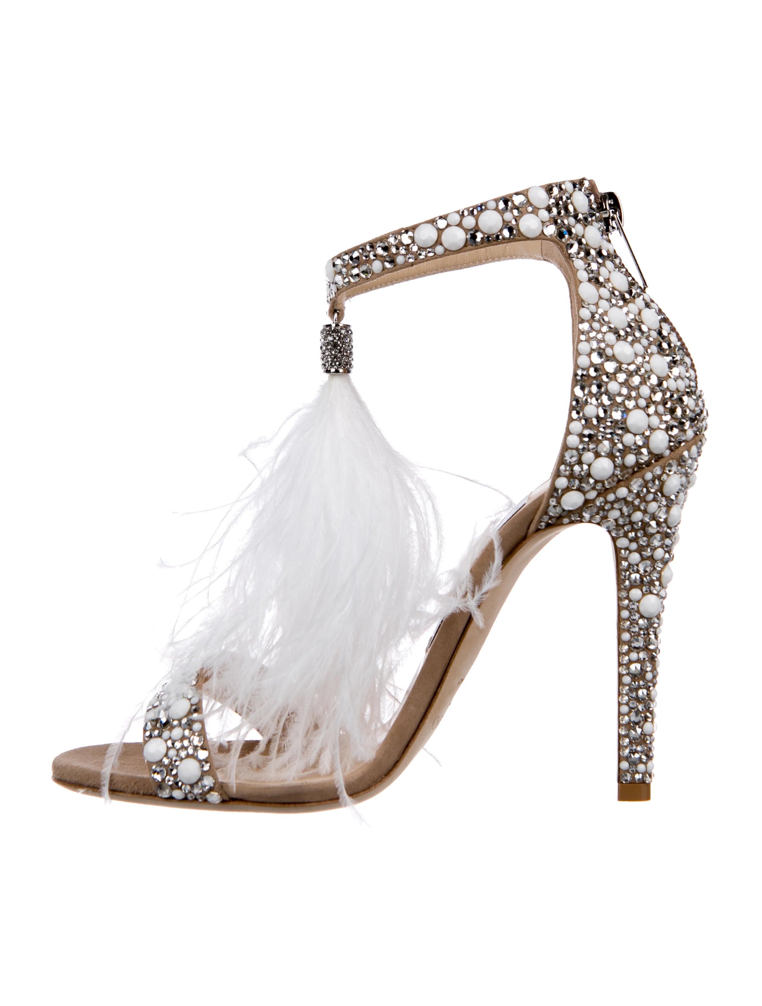 46becef3f1c Jimmy Choo 2018 Viola 110 Embellished Sandals - Shoes - JIM95718 ...