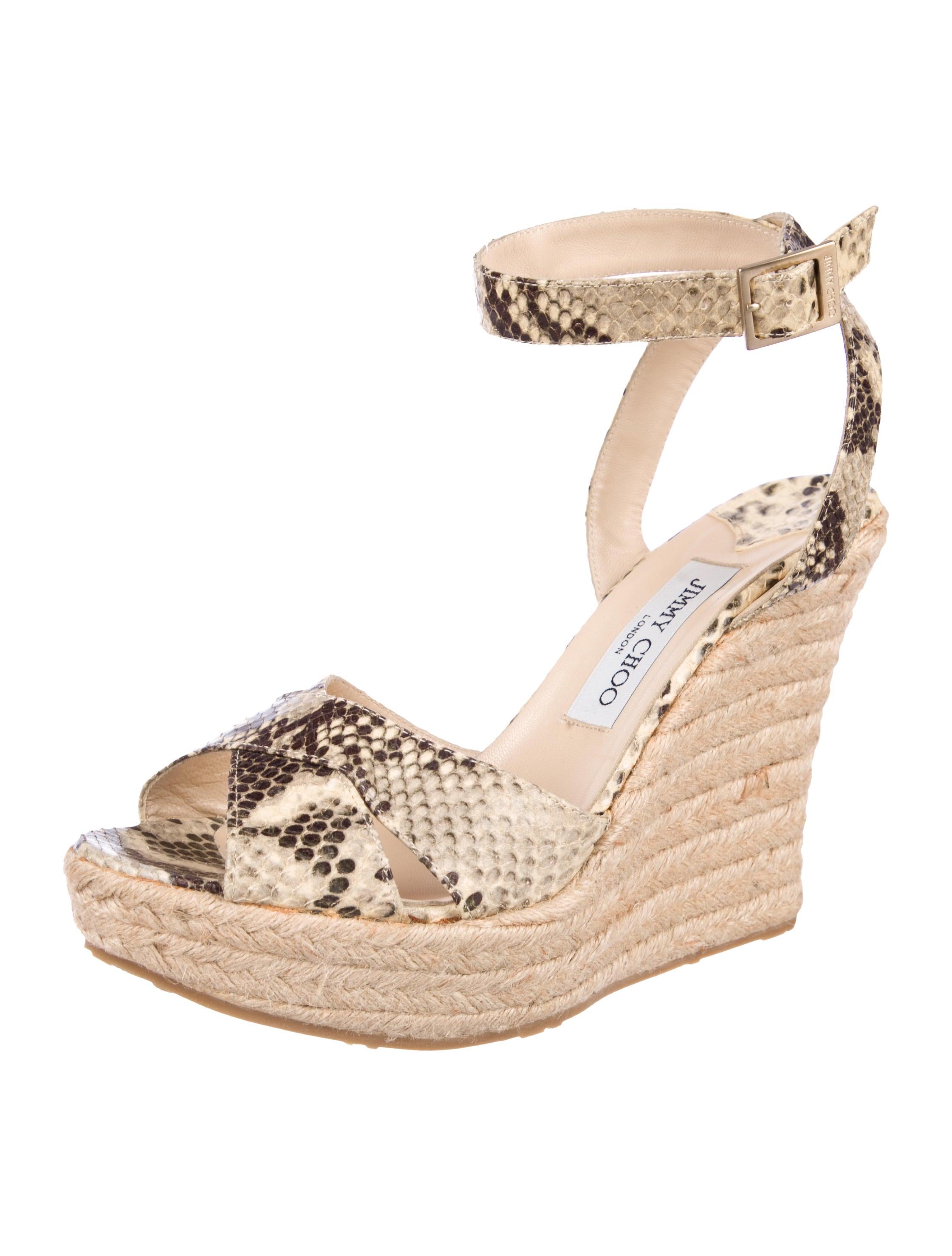 35a93ea451d42d Jimmy Choo Platform Espadrille Wedges - Shoes - JIM97025