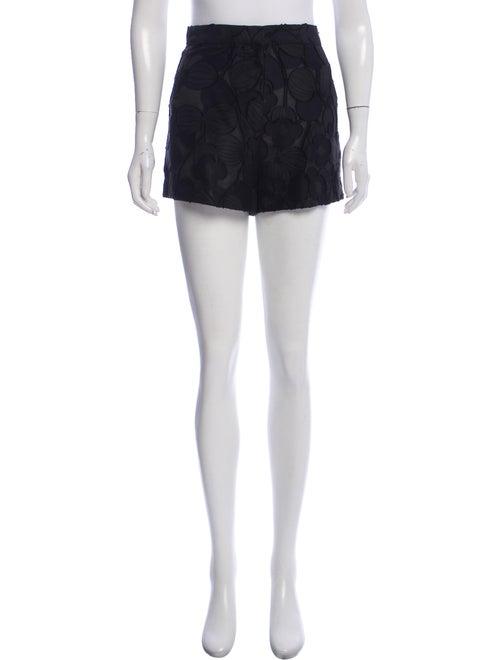 Jill Stuart Tailored Mini Shorts Black