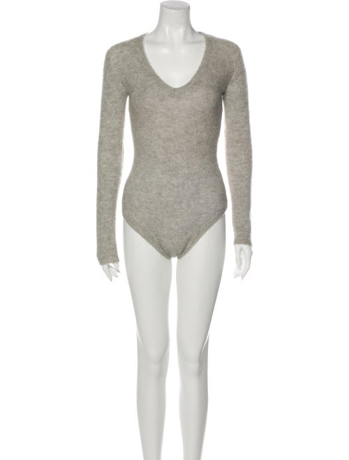 Jill Stuart Bellota Wool Leotard Grey