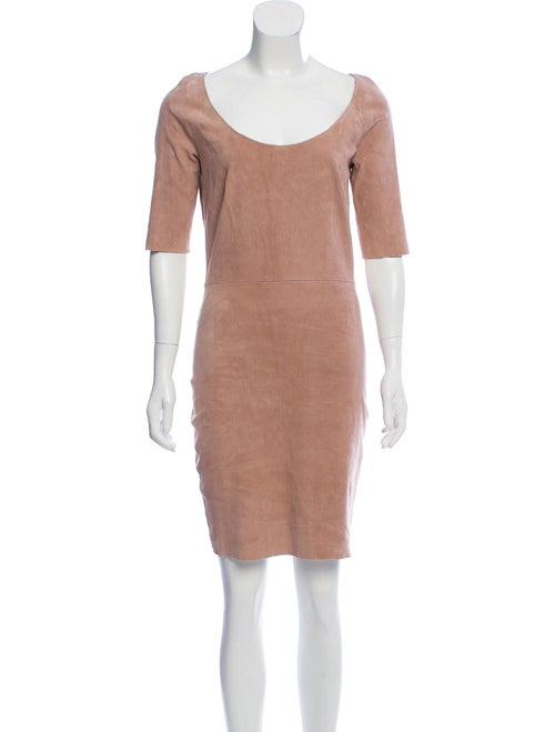 Jitrois Scoop Neck Mini Dress