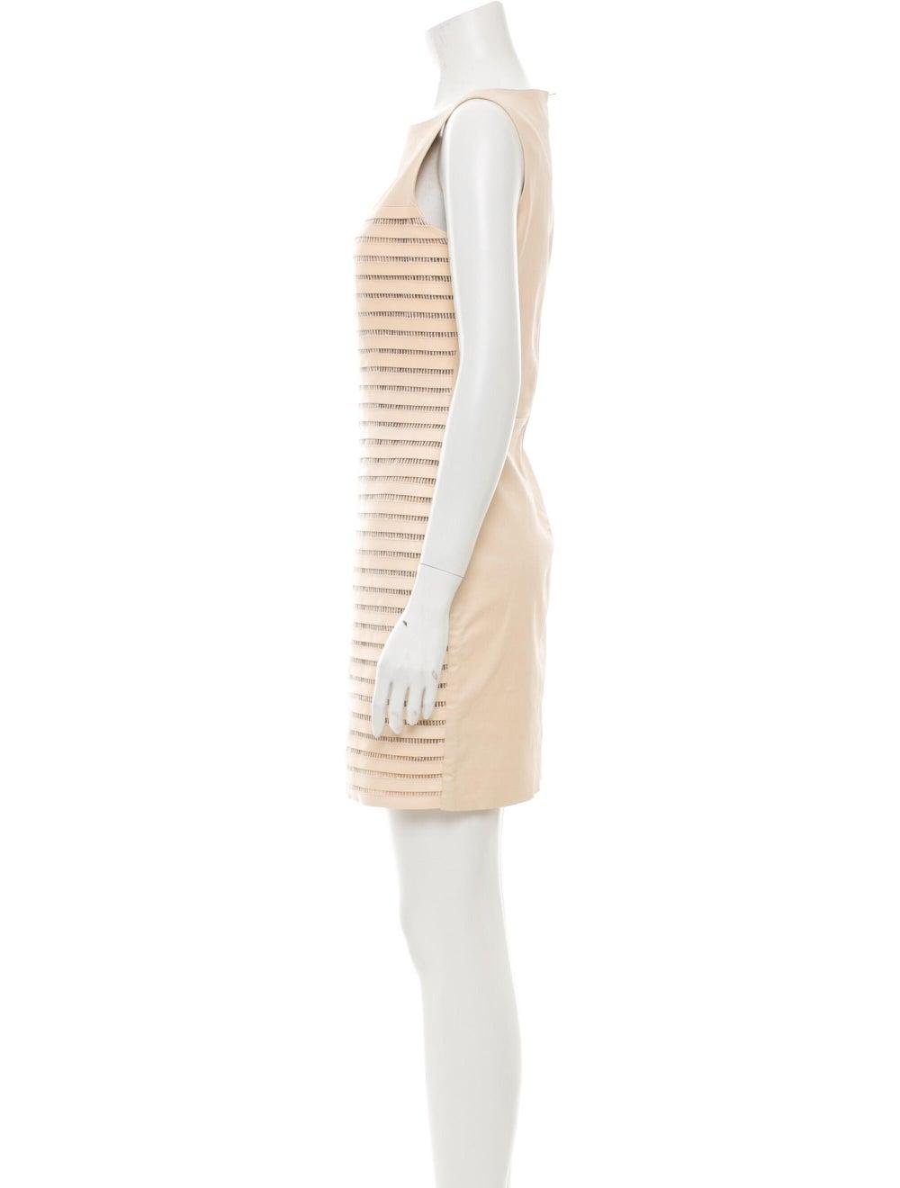 Jitrois Crew Neck Mini Dress - image 2