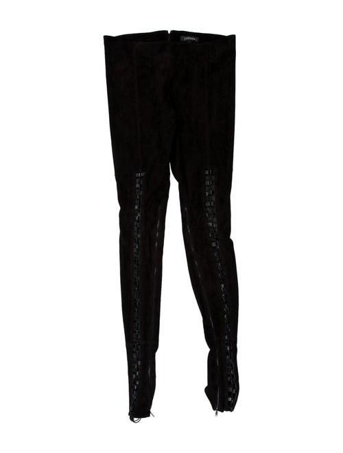 Jitrois Wide Leg Pants Black