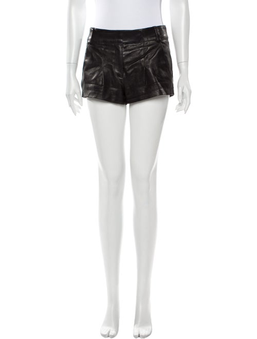 Jitrois Mini Shorts Black