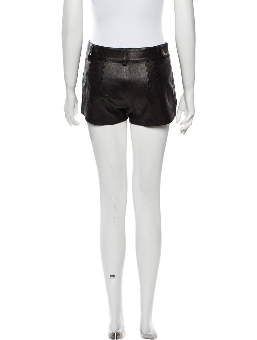 Jitrois Mini Shorts Black - image 3